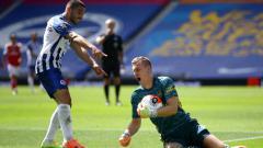 Indosport - Berikut ini rekap hasil pertandingan Liga Inggris pekan ke-30, termasuk Arsenal dikalahkan Brighton sehingga terpuruk di peringkat 10 klasemen sementara.