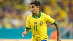 Indosport - Coutinho saat membela Timnas Brasil