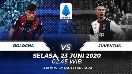 Berikut prediksi pertandingan lanjutan kompetisi Serie A Liga Italia pada pekan ke-27 antaratim sepak bola Bologna vs Juventus. - INDOSPORT