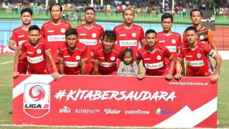 Satu pemain klub promosi Liga 2 2020, AA Tiga Naga, dipanggil ke TC Timnas Indonesia U-19. - INDOSPORT