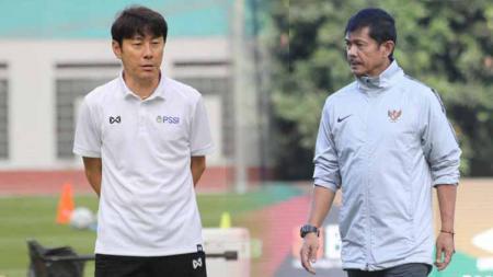 Berikut ini perbandingan prestasi pelatih Indra Sjafri yang siap besut Timnas Indonesia dan juru taktik asal Korea Selatan Shin Tae-yong. - INDOSPORT