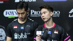 Indosport - Analisis PBSI Home Tournament: Kelemahan Kevin/Reza Tereksploitasi