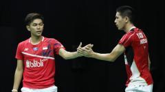 Indosport - Kepala pelatih ganda putra PBSI, Herry IP membeberkan kunci kunci kesuksesan Fajar Alfian/Yeremia Erich Yacob Rambitan menjuarai Mola TV PBSI Home Tournament.