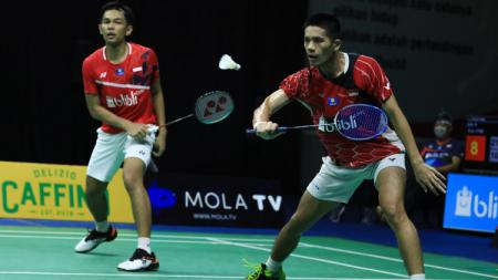 Link Live Streaming Mola TV PBSI Home Tournament: Fajar/Yeremia vs Kevin/Reza - INDOSPORT