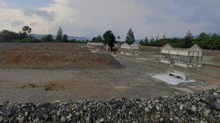Ada cerita menarik di balik persiiapan membangun venue olahraga menembak untuk PON Papua 2021 mendatang. - INDOSPORT