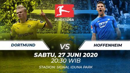 Prediksi pertandingan Bundesliga Jerman antara Borussia Dortmund vs Hoffenheim pada Sabtu (27/06/20) malam WIB, laga pemblasan dendam Die Borussen. - INDOSPORT