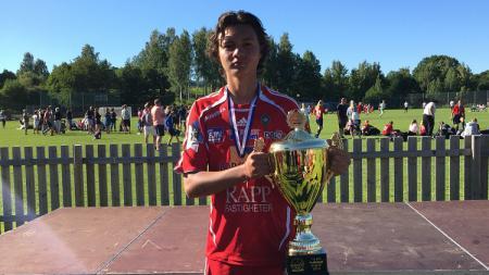 Wonderkid klub Swedia, Skovde AIK U-19, asala Indonesia, Nyoman Paul Fernando Aro. - INDOSPORT