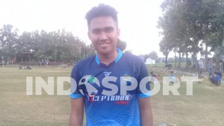 Pemain anyar PSS Sleman, Dimas Galih. - INDOSPORT