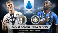 Indosport - Prediksi pertandingan Parma vs Inter Milan (Serie A Italia).