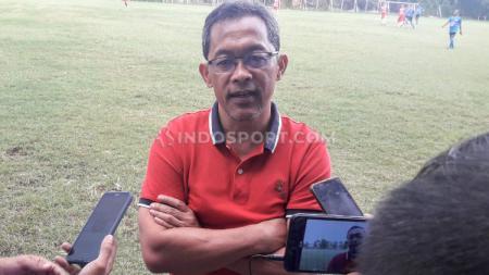 Pelatih Persebaya Surabaya, Aji Santoso. - INDOSPORT