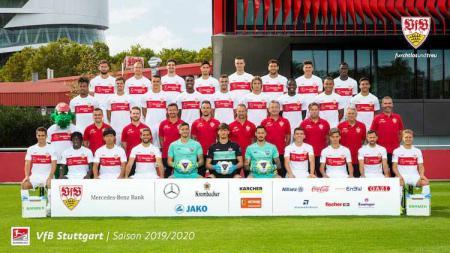 Bundesliga Jerman musim depan bakal kembali diramaikan dengan kehadiran mantan tim juara, VfB Stuttgart, yang baru saja promosi dari Bundesliga 2 musim ini. - INDOSPORT