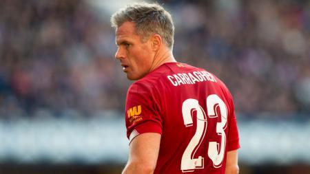Legenda Liverpool, Jamie Carragher banyak menuai kritikan setelah dirinya ikut merayakan gelar juara Liga Inggris di tengah pandemi virus corona. - INDOSPORT