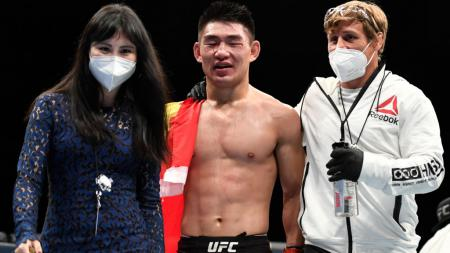 Song Yadong, salah satu petarung MMA asal China yang berkompetisi di UFC. - INDOSPORT