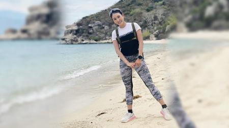 Jajal Olahraga Lari, Outfit Youtuber Seksi Thailand Ini Bikin Salah Fokus - INDOSPORT