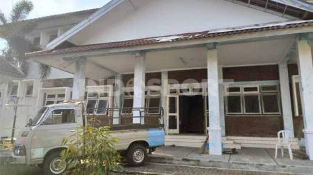 Mess lama PSIM Yogyakarta yang berada di komplek Monumen PSSI, Baciro, Kota Yogya, tengah direnovasi - INDOSPORT