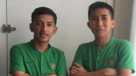 Salah satu bintang Timnas Indonesia U-19 Arya Gerryan Senyiur Lawolo memiliki tekad yang kuat demi bisa debut perdana dengan klub Liga 1 2020 Borneo FC. - INDOSPORT