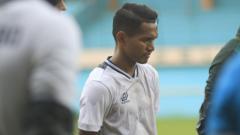 Indosport - Bek sayap kiri Tira Persikabo Abduh Lestaluhu.