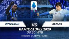 Indosport - Berikut link live streaming pertandingan Serie A Liga Italia antara Inter Milan vs Brescia, Kamis (02/07/20).