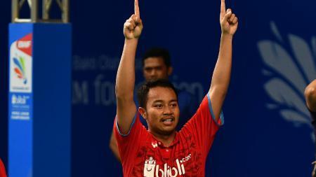 Rehan Naufal Kusharjanto, putra legenda bulutangkis Tri Kusharjanto. - INDOSPORT