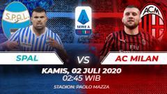Indosport - Prediksi pertandingan Serie A Italia SPAL Vs AC Milan.