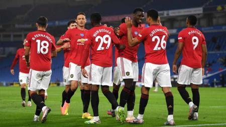 Kedatangan Jadon Sancho ke Manchester United diprediksi akan memakan korban salah satu dari trio Anthony Martial, Mason Greenwood, dan Marcus Rashford. - INDOSPORT