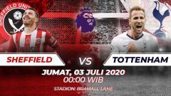 Indosport - Link Live Streaming pertandingan Liga Inggris, Sheffield United Vs Tottenham Hotspur