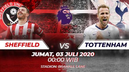 Link Live Streaming pertandingan Liga Inggris, Sheffield United Vs Tottenham Hotspur - INDOSPORT