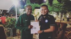 Indosport - Dirtek Safin Pati Football Academy (SPFA), Rudy Eka Priyambada,  merekrut pelatih Kas Hartadi.
