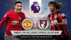 Indosport - Duel seru antara Manchester United vs Bournemouth tersaji pada pekan lanjutan Liga Inggris 2019-2020, Sabtu (04/07/20). Berikut prediksi pertandingannya.