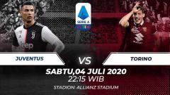 Indosport - Laga pekan ke-30 Serie A Italia akan mempertemukan Juventus vs Torino. Anda bisa menyaksikan pertandingan tersebut melalui live streaming.