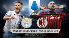 Indosport - Lazio harus menghadapi AC Milan di pekan ke-30 Serie A Liga Italia 2019/20. Minggu (05/07/20), yang diprediksi tak akan berjalan mudah.
