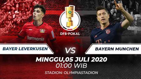 Sepak bola Jerman bakal dipanaskan jadwal pertandingan final DFB Pokal yang mempertemukan Bayer Leverkusen vs Bayern Munchen, Minggu (05/07/20) pukul 01.00 WIB. - INDOSPORT