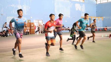 Para atlet DIY menjalani Puslatda menuju PON XX Papua. - INDOSPORT