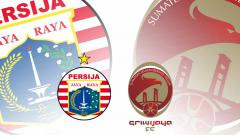 Indosport - Persija Jakarta vs Sriwijaya FC.