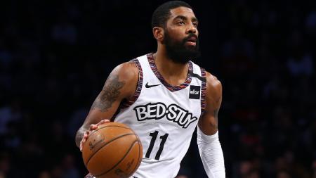 Pebasket klub Brooklyn Nets, Kyrie Irving. - INDOSPORT