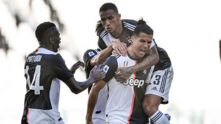 Raksasa sepak bola Serie A Liga Italia, Juventus, pernah beberapa kali mencetak gol-gol spektakuler ke gawang Cagliari dalam sejarah pertemuan kedua tim. - INDOSPORT