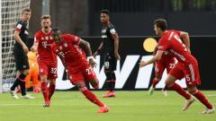Indosport - Hasil pertandingan Bayer Leverkusen vs Bayern Munchen di final DFB Pokal 2019-20 berakhir dengan skor 2-4 dan membuat FC Hollywood juara, Minggu (05/07/20).
