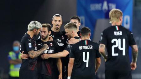 Efektif membangun di Serie A Liga Italia 2019-2020, ini trio bintang mematikan AC Milan. - INDOSPORT