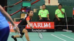 Indosport - Salah satu atlet binaan PB Djarum, Mutiara Ayu Puspitasari.