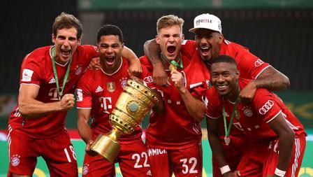 Bayern Munchen kini tercatat sudah 20 kali menjuarai DFB Pokal.