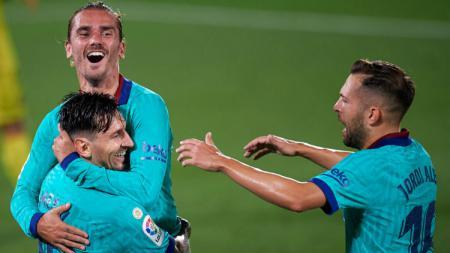 Pertandingan pekan ke-34 LaLiga Spanyol telah rampung digelar. Real Madrid dan Barcelona berhasil meraih poin penuh di laga ini. - INDOSPORT