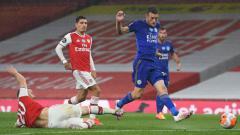 Indosport - Hasil pertandingan Arsenal vs Leicester City di pentas Liga Inggris 2019-20 berakhir dengan imbang 1-1, Rabu (07/07/20) dini hari.