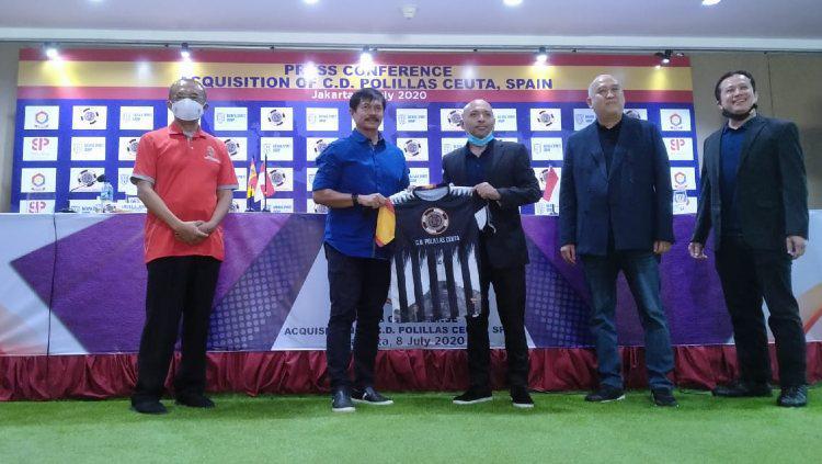 Batavia Sport Group (BSG) resmi mengambil alih kepemilikan salah satu klub sepak bola Spanyol, yakni klub Divisi 4 Spanyol, C.D. Polillas Ceuta. Copyright: Batavia Sport Group