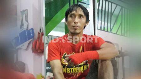 Slamet Sampurno mengaku bahwa karierya bersama Persibo Bojonegoro menjadi yang paling cemerlang, dengan promosi ke ISL musim 2009/2010 silam. - INDOSPORT