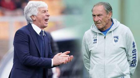 Keganasan lini depan Atalanta di bawah asuhan Gian Piero Gasperini mengingatkan pada legenda sepak bola menyerang Serie A Italia, Zdenek Zeman. - INDOSPORT