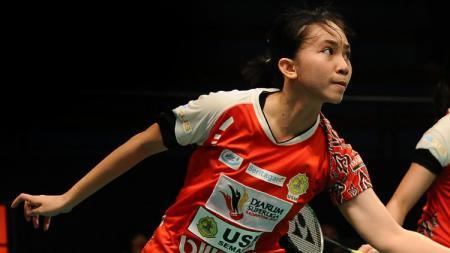 Inilah profil singkat Mychelle Crhystine Bandaso, pasangan anyar Apriyani Rahayu di kejuaraan Mola TV PBSI Home Tournament sektor ganda putri. - INDOSPORT