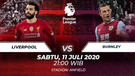 Berikut link live streaming pertandingan Liga Inggris pada pekan ke-35 yang mempertemukan Liverpool vs Burnley. - INDOSPORT