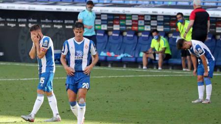 Klub LaLiga Spanyol, RCD Espanyol, telah dipastikan terdegradasi ke Segunda Division. Namun rupanya sebelum turun kasta, tim ini pernah berkunjung ke Indonesia. - INDOSPORT