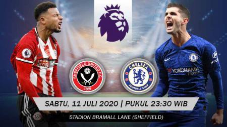Frank Lampard, pelatih Chelsea, sepertinya akan mengusung ambisi ganda ketika membawa anak asuhnya bertandang ke markas Sheffield United, Sabtu (11/07/20) mendatang. - INDOSPORT