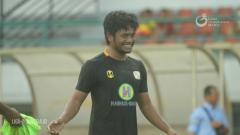 Indosport - Winger Barito Putera, Ilham Udin Armaiyn.